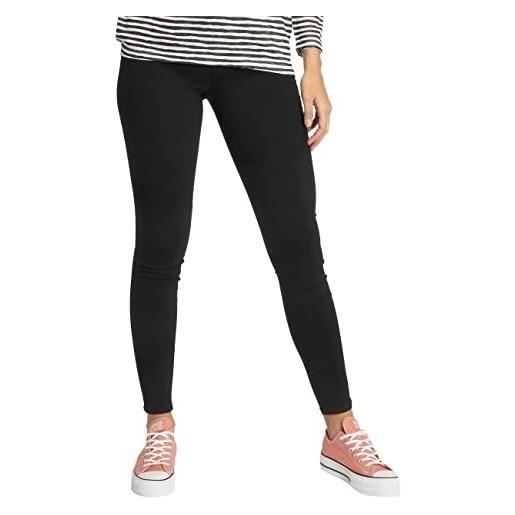 PIECES pcskin wear jeggings black/noos, jeans donna, nero (black), 38 (taglia produttore: medium)