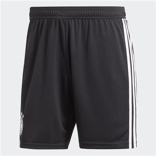 Adidas pantaloncini gara home germania 18/20 uomo