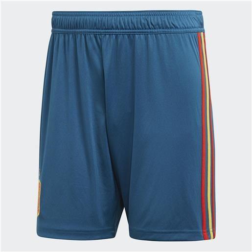 Adidas pantaloncini gara home spagna 18/20 uomo