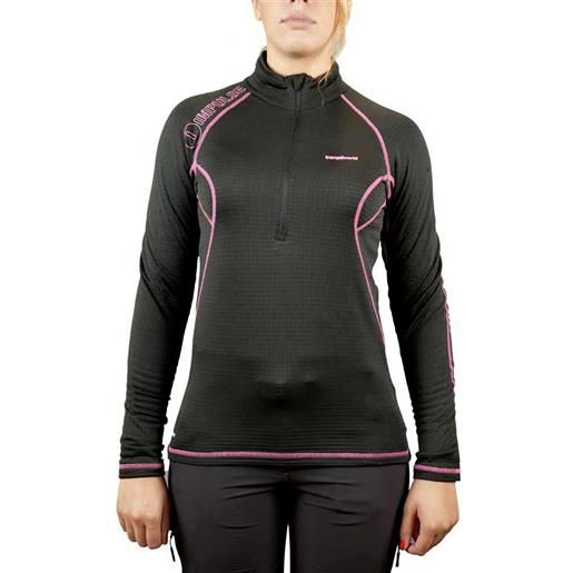 Trangoworld maglietta manica lunga yushu xs black