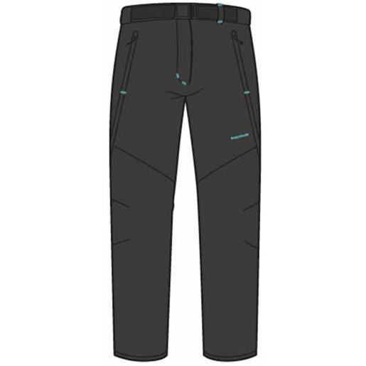 Trangoworld pantaloni flexa short xl black