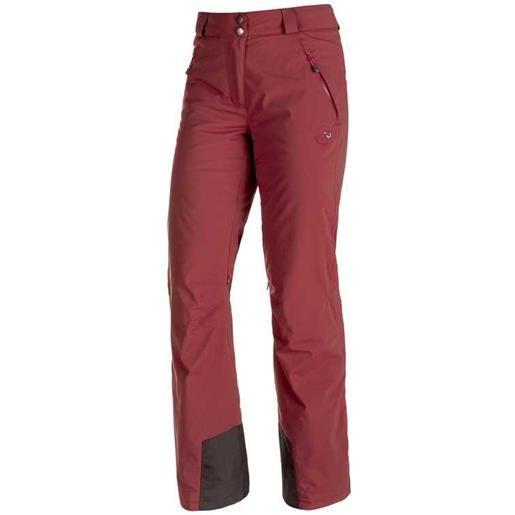 Mammut pantaloni nara hs regular 34 merlot