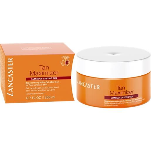 Lancaster > Lancaster tan maximizer regenerating milky-gel after sun 200 ml