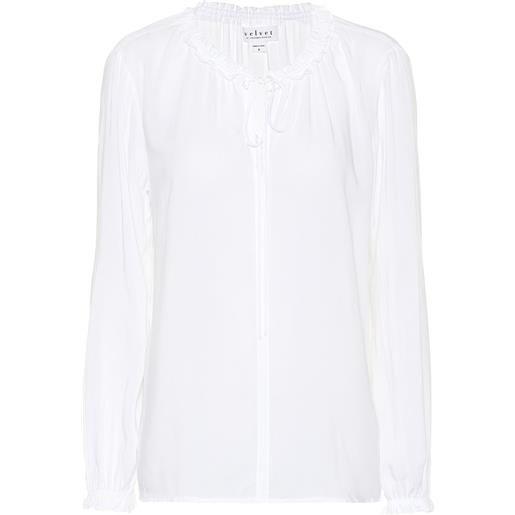 Velvet blusa samantha in challis