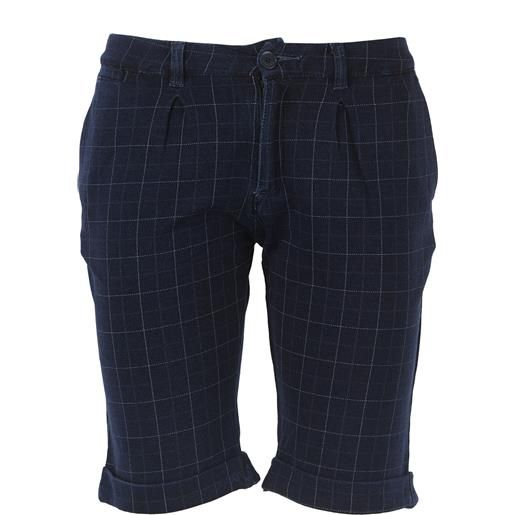 Paolo Pecora pantaloncini shorts bambino in outlet, blue, cotone, 2021, 2y 6y