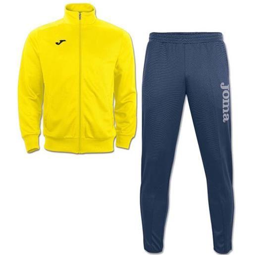 Gladiator combi gala 5 joma tuta allenamento training caviglia stretta uomo -giallo blue id. Grid: 4772 , code: 8011.12 100086 color: giallo blue