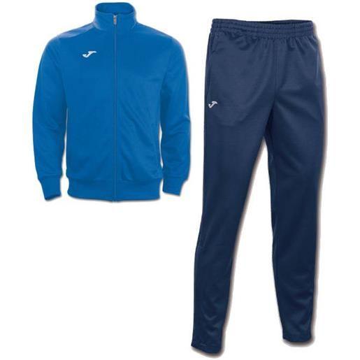 Interlock combi gala 5 joma tuta allenamento training tasche a zip -azzurro blue id. Grid: 4773 , code: 100027 100086 color: azzurro blue