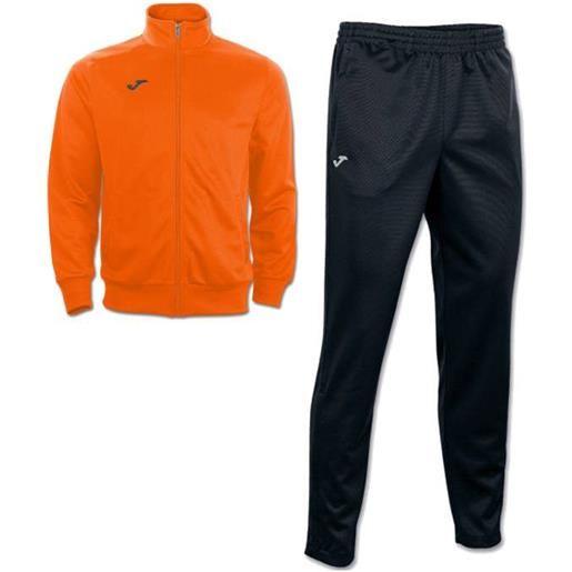 Interlock combi gala 5 joma tuta allenamento training tasche a zip -arancio nero id. Grid: 4773 , code: 100027 100086 color: arancio nero