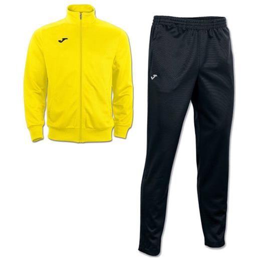 Interlock combi gala 5 joma tuta allenamento training tasche a zip -giallo nero id. Grid: 4773 , code: 100027 100086 color: giallo nero