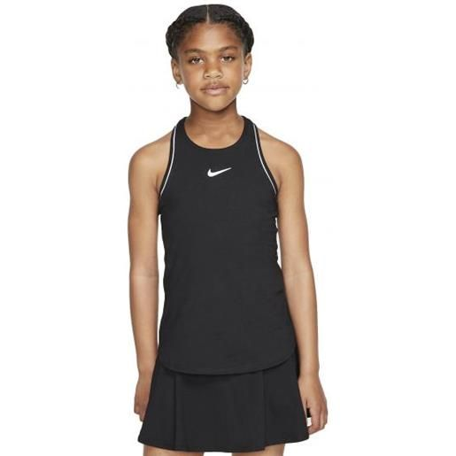 Nike g nkct dry tank canotta tennis bambina