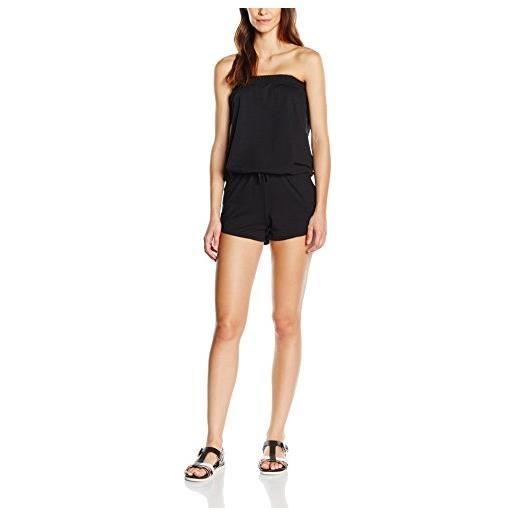 Urban Classics ladies hot jumpsuit tute, black 7, small donna
