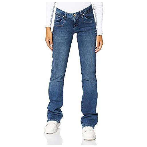 LTB Jeans - valerie, jeans da donna, blue lapis wash 3923, 40 it (26w/32l)