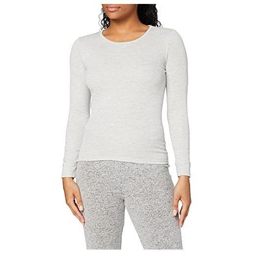 Damart tee shirt manches longues. Maglia, bianco (blanc 56680-01010-), 50 (taglia produttore: large) donna