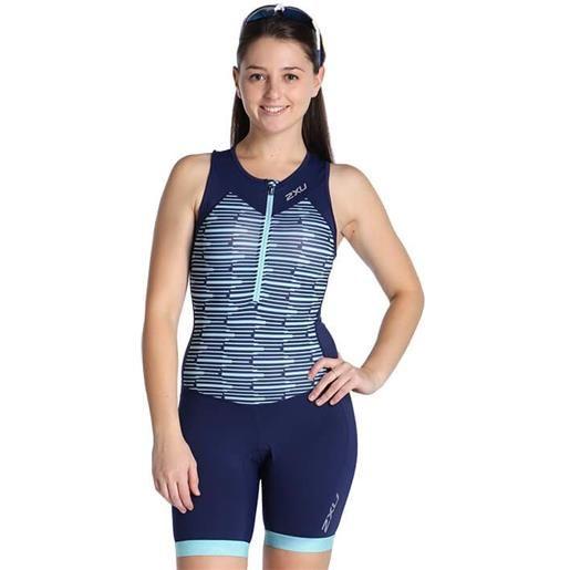 2XU donna 2XU active body triathlon, taglia s, abbigliamento triathlon