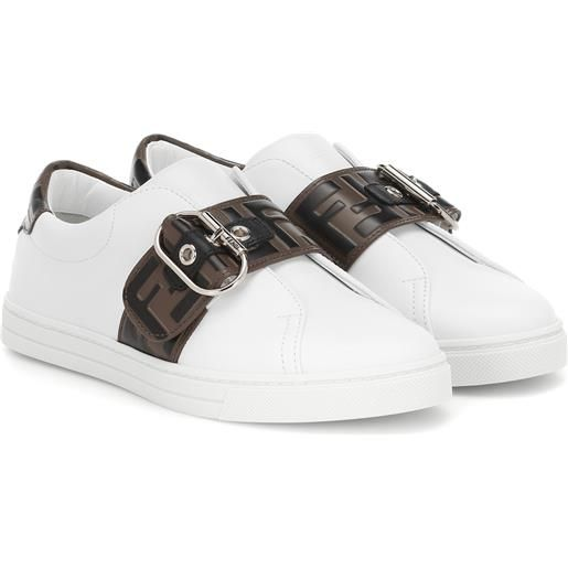 FENDI sneakers in pelle