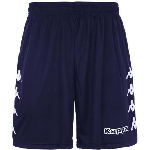 Kappa curchet short 901 blue marine pantaloncino adulto