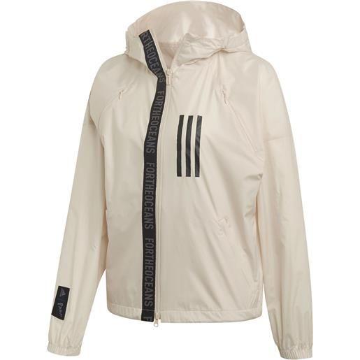 ADIDAS giacca windbreaker parley donna