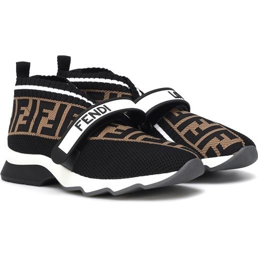 FENDI sneakers in maglia stretch