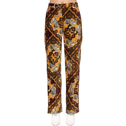 F.R.S. FOR RESTLESS SLEEPERS pantaloni in velluto di cotone