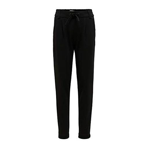 Only konpoptrash easy pant pantaloni, nero (black black), 164 bambina