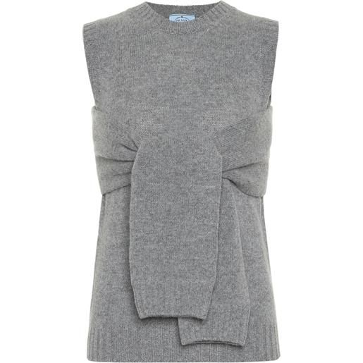 Prada dolcevita in lana e cashmere