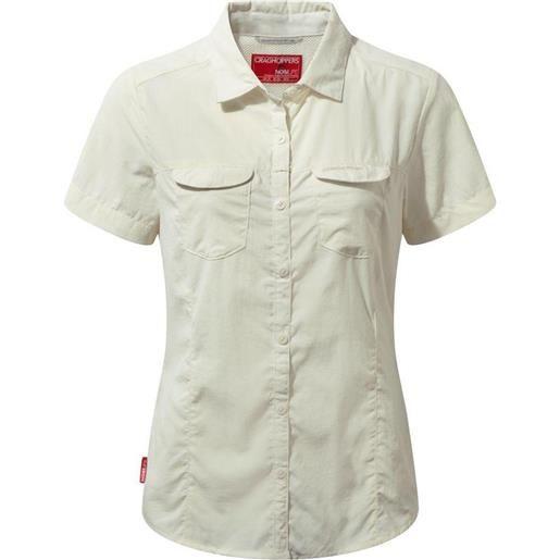 Craghoppers camicia manica corta nosilife adventure 20 sea salt