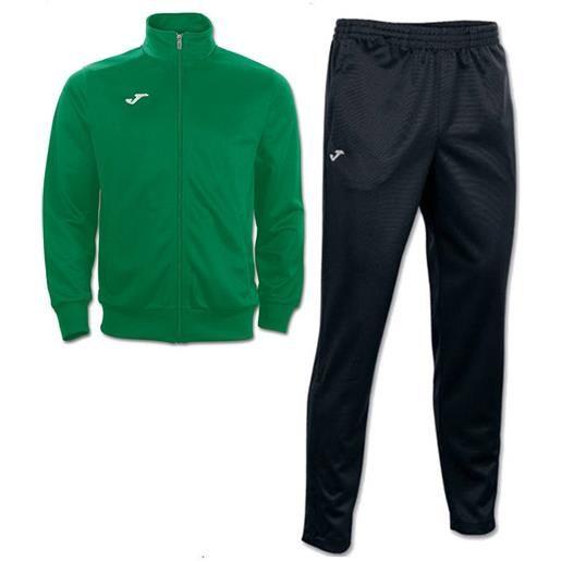 Interlock combi gala 5 joma tuta allenamento training tasche a zip -verde nero id. Grid: 4773 , code: 100027 100086 color: verde nero