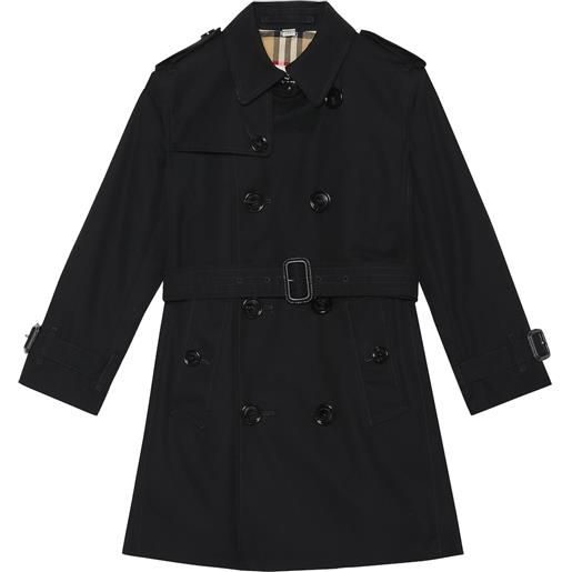 Burberry Kids trench mayfair in cotone