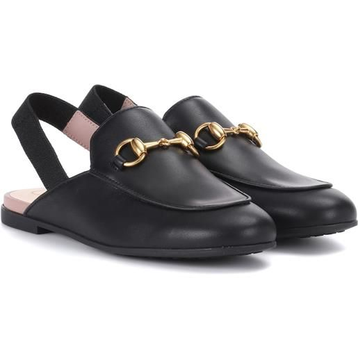 Gucci Kids slippers princetown in pelle