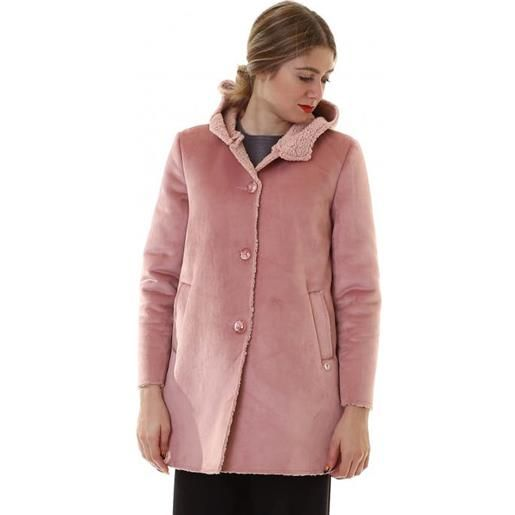 Bunf cappotto bouclet donna