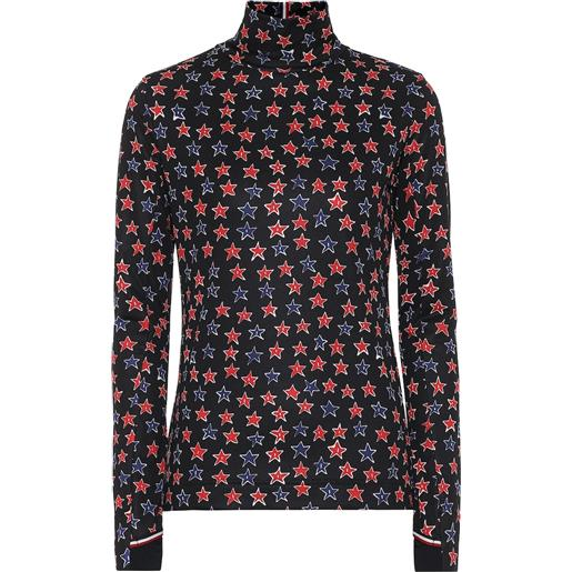 Moncler Genius 3 moncler grenoble - lupetto a stampa in jersey tecnico
