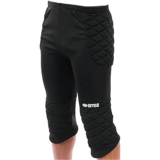 ERREA' errea stopper pantaloni 3/4 portiere nero adulto da uomo