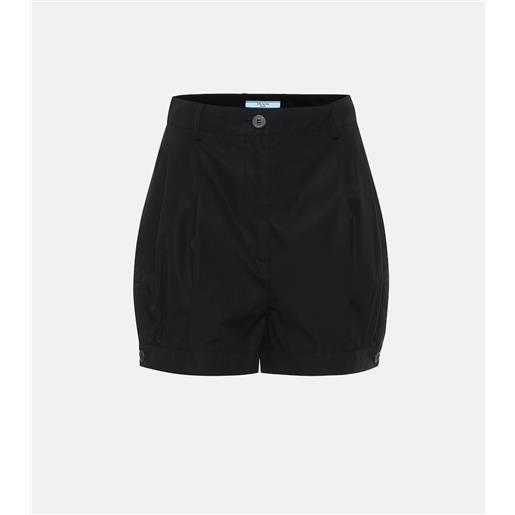 Prada shorts in twill di cotone