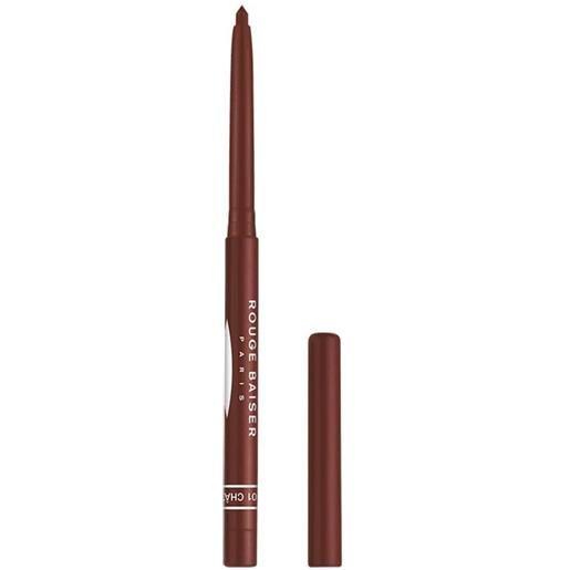 Rouge Baiser 1 chataigne stylo contour des levres matita labbra 0.3 g