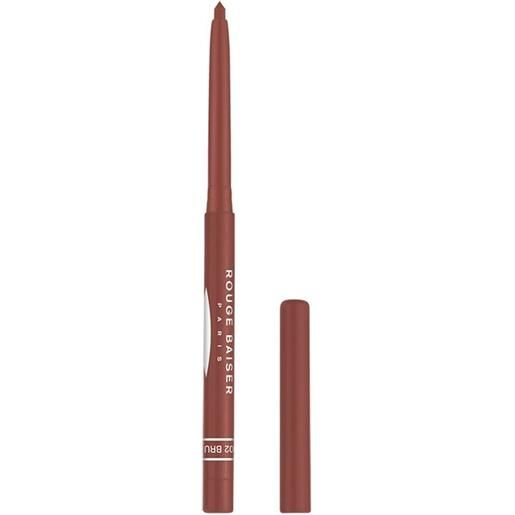Rouge Baiser 2 brun stylo contour des levres matita labbra 0.3 g