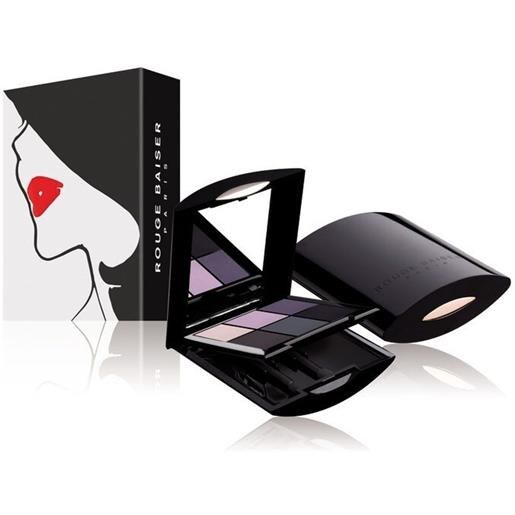 Rouge Baiser 1 violet smoky palette ombres a paupieres intensement ombretto 7g