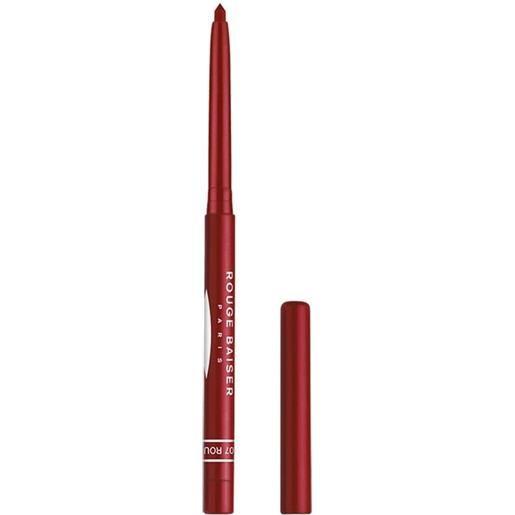 Rouge Baiser 7 rouge intense stylo contour des levres matita labbra 0.3 g