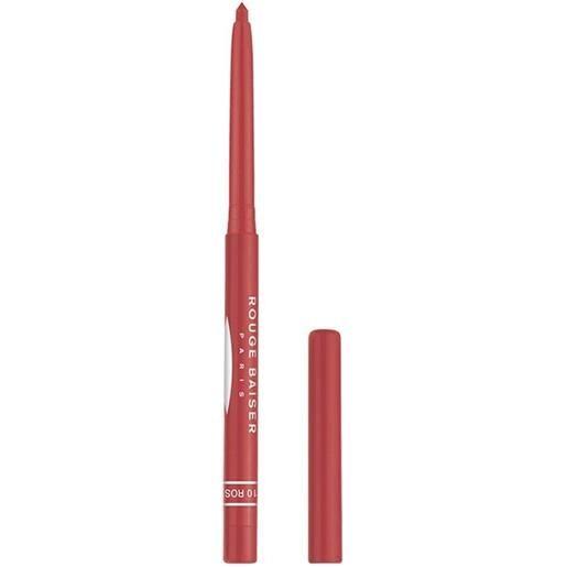 Rouge Baiser 10 rose stylo contour des levres matita labbra 0.3 g
