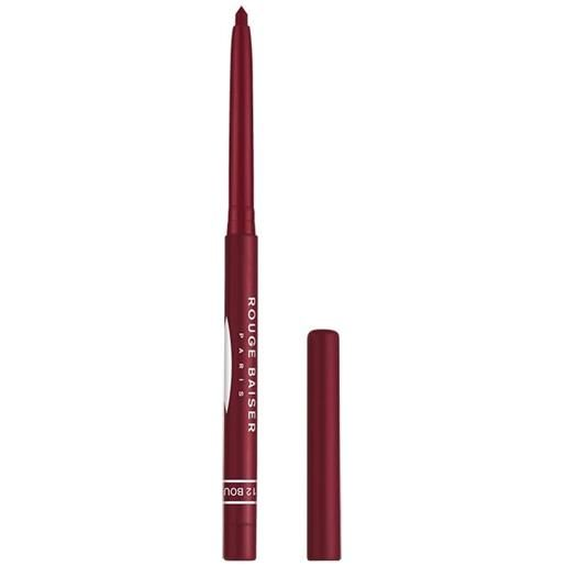 Rouge Baiser 12 bourgogne stylo contour des levres matita labbra 0.3 g