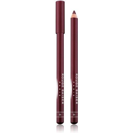Rouge Baiser 12 myrtille crayon contour des levres matita labbra 1.5 g