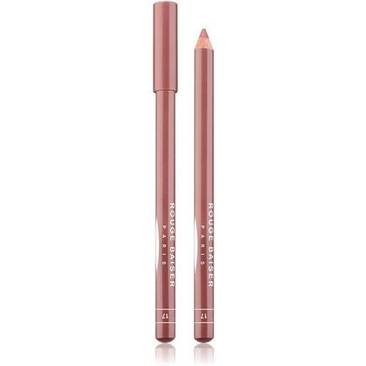 Rouge Baiser 17 bois de rose crayon contour des levres matita labbra 1.5 g