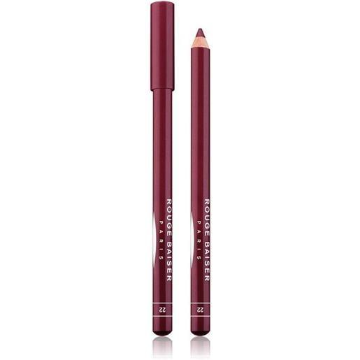 Rouge Baiser 22 cassis crayon contour des levres matita labbra 1.5 g
