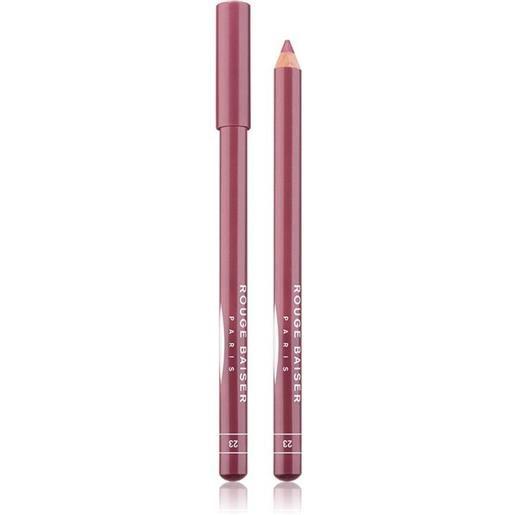 Rouge Baiser 23 mauve crayon contour des levres matita labbra 1.5 g