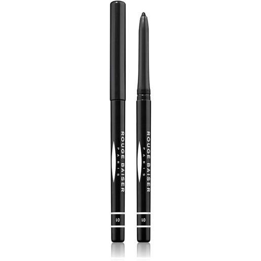 Rouge Baiser 1 noir intense stylo contour des yeux matita occhi 1g