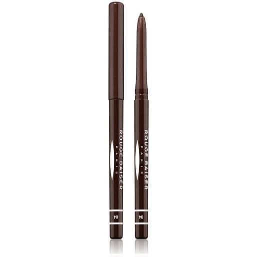 Rouge Baiser 4 brun nuit stylo contour des yeux matita occhi 1g