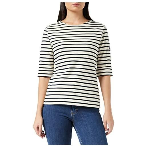 Armor Lux 5409 t-shirt, multicolore (rich navy/braise ii9), xxx-large (taglia unica: 6) donna