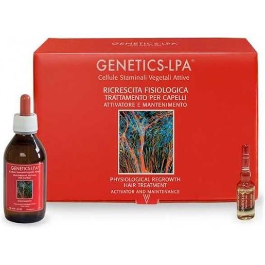 Genetics-lpa trattamento attivatore 30 fiale e lozione mantenimento 125 ml