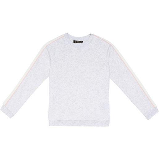 Loro Piana Kids top soft trims in cotone