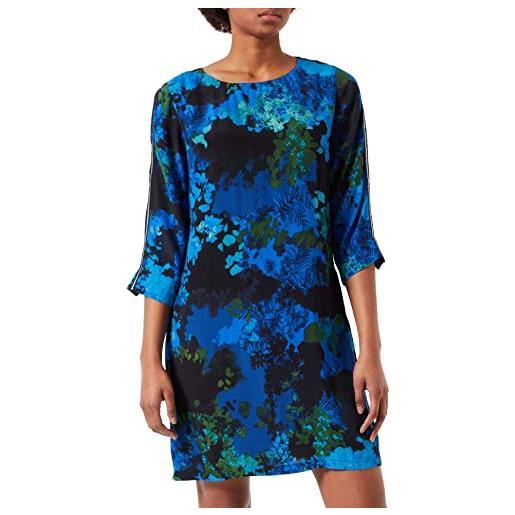 Desigual vest_tennessee vestito, blu (azul agata 5026), 48 (taglia produttore: 42) donna