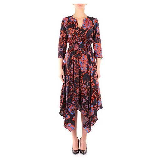 Desigual vest_hudson vestito, arancione (sunset 7026), 46 (taglia produttore: 40) donna